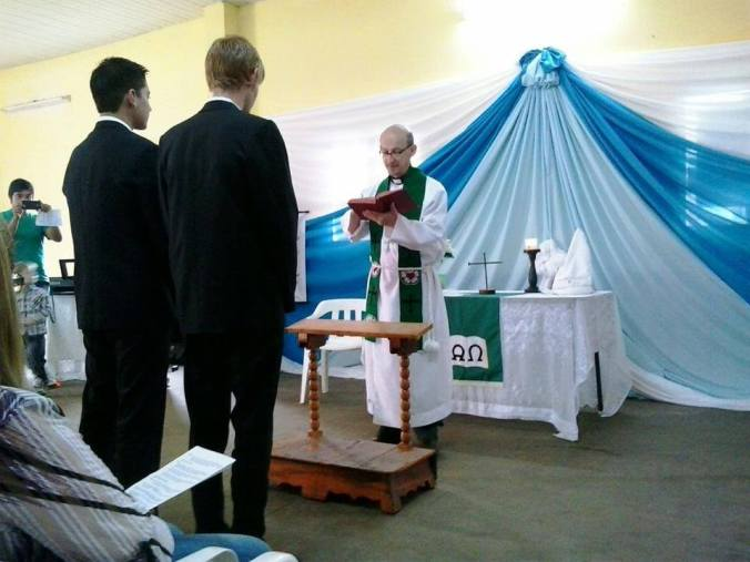 Pastor Alceu Alton FIgur from the Evangelical Lutheran Church of Paraguay. (Source: LCMS Missions in LA & the Caribbean Facebook)