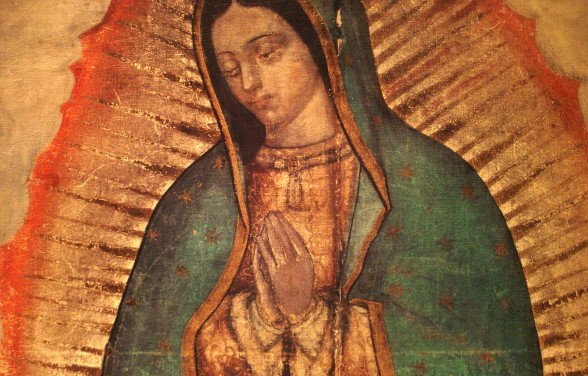 Our Lady of Guadalupe. Photo: www.thecatholiccatalogue.com