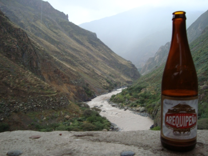 Arequipena is a pale ale brewed in the region of Arequipa, Peru.